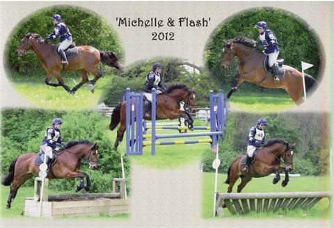 Jumping comp with Flash show jumping & x/c